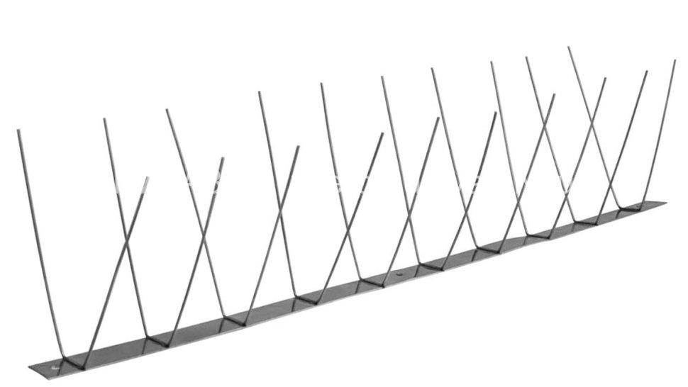 Металлические противоприсадные шипы от птиц «Игла С-1»