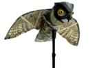 Чучело филина для отпугивания птиц