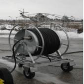 Аэродромный удлинитель барабанного типа