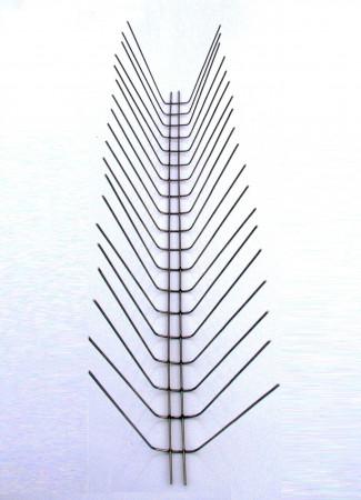 Металлические противоприсадные шипы от птиц «Игла П-2»