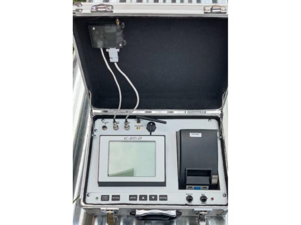 Блок измерения и регистрации значений коэффициента сцепления КС-ВПП